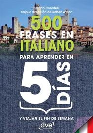 500 frases en italiano para aprender en 5 días - copertina