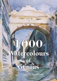 1000 Watercolours of Genius - copertina