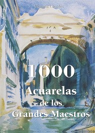 1000 Acuarelas de los Grandes Maestros - copertina