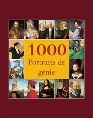 1000 Portraits de génie - copertina