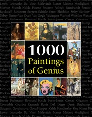 1000 Paintings of Genius - copertina