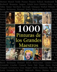 1000 Pinturas de los Grandes Maestros - copertina