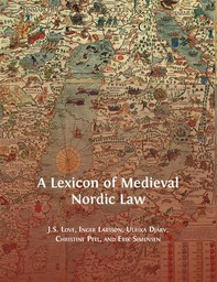 A Lexicon of Medieval Nordic Law - Librerie.coop