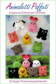 Animaletti paffuti amigurumi schema per uncinetto - copertina