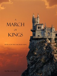 A March of Kings (Book #2 in the Sorcerer's Ring) - copertina