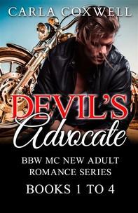 Devil's Advocate BBW MC New Adult Romance Series - Books 1 to 4 - Librerie.coop
