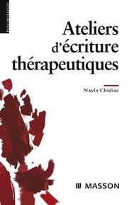 Ateliers d'écriture thérapeutiques - copertina