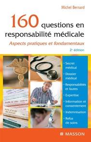 160 questions en responsabilité médicale - copertina