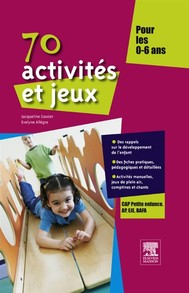 70 activités et jeux pour les 0-6 ans - copertina