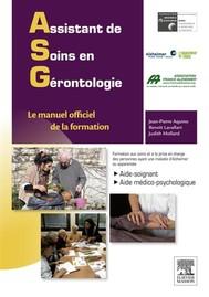 Assistant de soins en gérontologie - copertina
