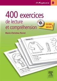 400 exercices de lecture et compréhension - copertina