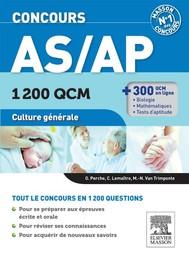 Concours AS/AP 1 200 QCM Culture générale - copertina