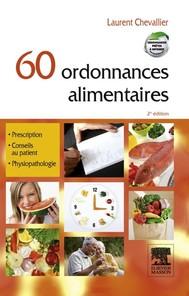 60 ordonnances alimentaires - copertina