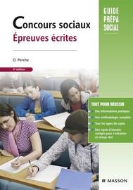 Concours sociaux Épreuves écrites - copertina