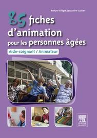85 fiches d'animation pour les personnes âgées - copertina