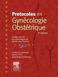 Protocoles en Gynécologie-Obstétrique - Librerie.coop