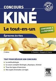 Concours Kiné Le tout-en-un Épreuves écrites - copertina