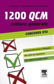 1 200 QCM Concours IFSI Culture générale - copertina