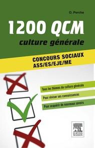 1 200 QCM Culture générale Concours sociaux - copertina