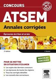 Annales corrigées Concours ATSEM - copertina