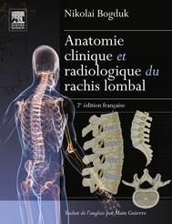 Anatomie clinique et radiologique du rachis lombal - copertina