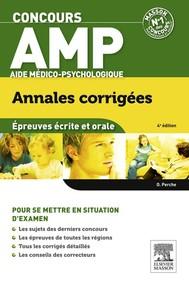 Concours AMP Aide médico-psychologique Annales corrigées - copertina