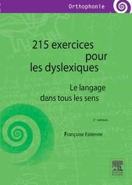 215 exercices pour les dyslexiques - copertina