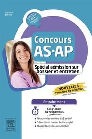 Concours AS/AP - Spécial admission sur dossier et entretien - Entraînement - copertina