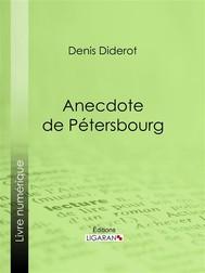 Anecdote de Pétersbourg - copertina