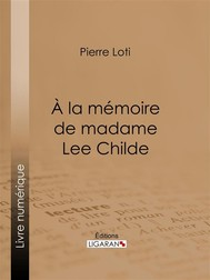 A la mémoire de madame Lee Childe - copertina