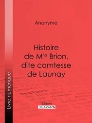 Histoire de Mlle Brion, dite comtesse de Launay - copertina