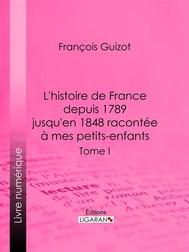 L'histoire de France depuis 1789 jusqu'en 1848 racontée à mes petits-enfants - copertina