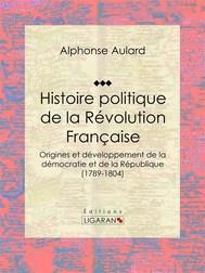 Histoire politique de la Révolution française - copertina