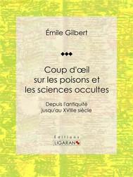 Coup d'oeil sur les poisons et les sciences occultes - copertina
