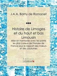 Histoire de Limoges et du haut et bas Limousin - copertina