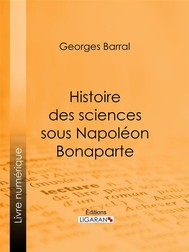Histoire des sciences sous Napoléon Bonaparte - copertina