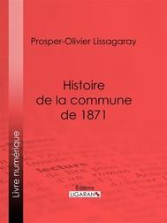 Histoire de la commune de 1871 - copertina