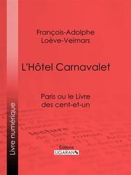 L'Hôtel Carnavalet - copertina