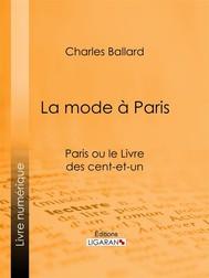 La mode à Paris - copertina