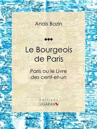 Le Bourgeois de Paris - Librerie.coop
