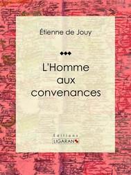 L'Homme aux convenances - copertina