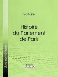 Histoire du Parlement de Paris - copertina