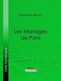 Les Mariages de Paris - Librerie.coop