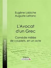 L'Avocat d'un Grec - Librerie.coop