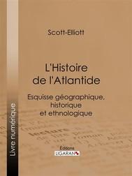 L'Histoire de l'Atlantide - copertina