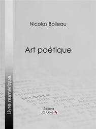 Art poétique - copertina