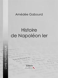Histoire de Napoléon Ier - copertina