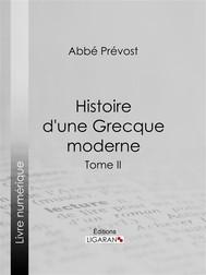 Histoire d'une Grecque moderne - copertina