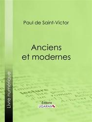 Anciens et modernes - copertina