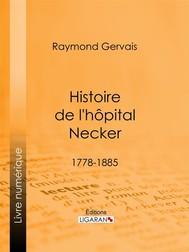 Histoire de l'hôpital Necker - copertina